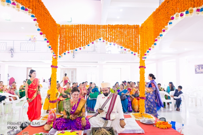 Kunal N Monica – A Traditional Maharashtrian Wedding