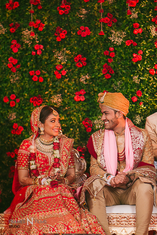 Akhil N Kajol : A Gujrati wedding with a south Indian twist