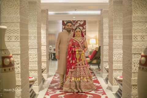 Shreya N Rohit : A Big fat wedding with Quirks, Spirits and Soul – Everything a Sindhi – Punjabi affair should be!